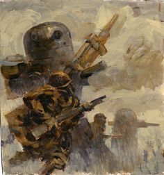 World War Robot by Ashley Wood, one of my favorites