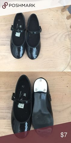 Kids tap shoes Black patent tap shoes Payless Shoes