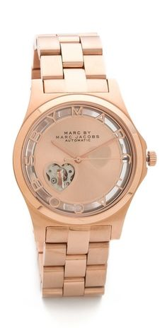 Marc by Marc Jacobs Icon Cutout Automatic Watch | SHOPBOP