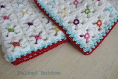 Crazy Good Mat Crochet Pattern by Susan Carlson of Felted Button