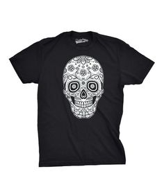 Love this Black Sugar Skull Tee on #zulily! #zulilyfinds