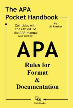 apa 6th edition in text citations pdf documentation