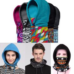 Polar Fleece Sports Motorcycle Bike Balaclava Ski Face Dust Mask Hood Hat Warmer                                                                                                                                                                                 More
