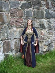 Ghawazee Dress at Kungahälla Medieval Fair, Sweden