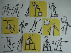Bikablo Icons : Actions 그리기 - drawing