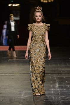 Dolce & Gabbana Alta Moda Haute couture Spring/Summer 2016 84