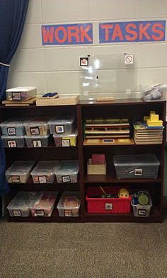Exceptional Learning for Exceptional Kids: Work Task Boxes