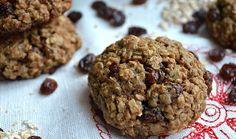 Receta para hacer galletas de avena sin harina ni azúcar de forma rápida y sencilla. INSTRUCCIONES PASO A PASO!
