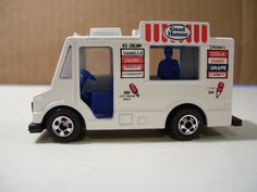 Your place to buy and sell all things handmade Matchbox Autos, Matchbox Cars, Good Humor Ice Cream, Hot Wheels Cars, Childhood Toys, Slot Cars, Diecast, Trucks, Nostalgia