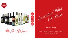 Buy Trophy Club Executive White - 12 Pack Online.    #ExecutiveWhite #WhiteWines #BuyWhiteWines