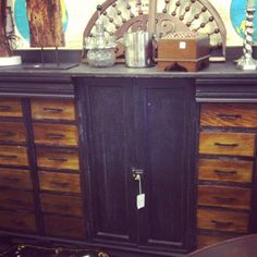 Beautiful Storage Cabinet...Oh the possibilities!!