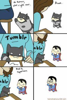 batman superman funny | ... Superman Forever Alone - batman superman funny #14 - Doblelol.com