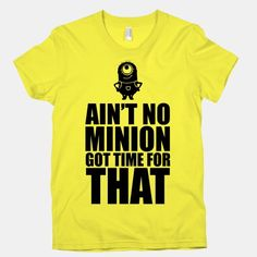 Sweet Brown meets Despicable Me with this cute design!
