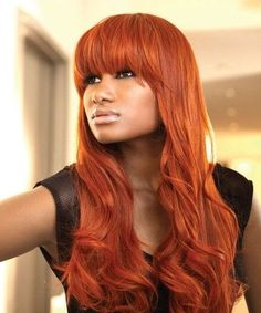 burnt orange hair color - Google Search