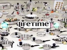 RegalWareLifetimeVideoSeries2013_Welcome_FINAL If you are shopping for cookware check out LIFETIME as an owner for 36 years and represenative of this fine cookware you owe it to yourself to check it out.You will never regret it.