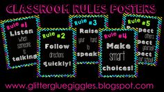 Getting Rid of the Clip Chart - I had a very upset student today who encouraged me to look into alternatives. This blog post on Glitter, Glue, & Giggles has given me some positive ideas for the future.