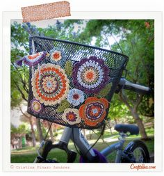 A very Crafteina bike - Crochet