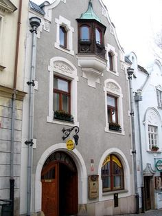 Burgher house in Sumperk, CZ.