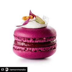 """2016 was a gem. 2017 will be all about sharing new pastry visions. Stay tuned to #CacaoCollective chefs community and #UnboxCreativity.  #Repost & : @ramonmorato ・・・ This is one of the projects that I am most proud of in this 2016, I hope you like it... """"THE 7 VEGETABLE MACARON COLLECTION"""" Macaron + beet and Zephyr white chocolate + goat cheese + pink pepper crumble + arugula + sea salt flakes  Photo by @ivan_raga_foto #inspiration #invasionoftheplants #cacaobarry #cacaocollective #chef…"""