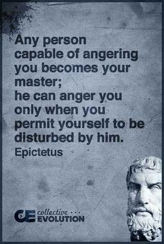Wisdom Quotes : QUOTATION – Image : As the quote says – Description Who is your master…anger? Wise Quotes, Quotable Quotes, Great Quotes, Quotes To Live By, Motivational Quotes, Inspirational Quotes, Anger Quotes, Quotes About Anger, Socrates Quotes