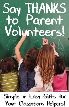 Say Thanks to Parent Volunteers! Simple & Easy Gifts for Your Classroom Helpers! Grab the gift tag FREEBIES! Classroom Volunteer, Classroom Helpers, Classroom Organization, Classroom Ideas, Classroom Procedures, Classroom Management, Appreciation Message, Volunteer Appreciation, Parent Volunteers