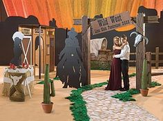 wedding-with-old-west-style-decoration
