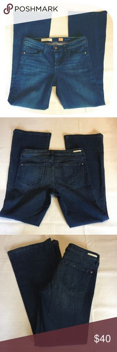 Anthropologie Pilcro Stretch Flare Jeans Gently worn, no flaws. Soft stretchy material 91% cotton 7% polyester 2% spandex. Tags: Jeans Stretch Flare Boho Anthropolgie size 29 Anthropologie Jeans Flare & Wide Leg