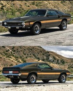 Classic Mustang, Ford Classic Cars, Mustang Mach 1, Ford Mustang, Carroll Shelby, Mode Of Transport, Pony Car, Drag Racing, Hot Cars