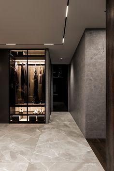 Brit Apartment on Behance Urban Apartment, Apartment Interior, Apartment Design, Home Room Design, Home Interior Design, Interior Decorating, House Design, Flat Interior, Luxury Homes Interior