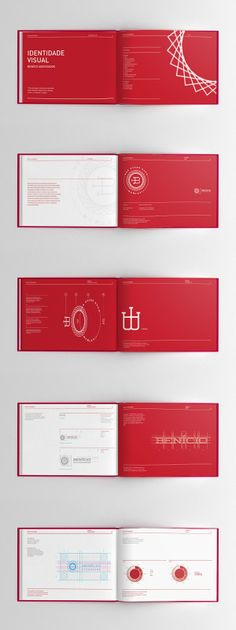 Redlake \/ brand \/ identity \/ book \/ style guide \/packaging - manual cover page template