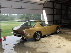 Studebaker Avanti just before delivery to customer.