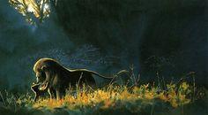 Lion King concept art