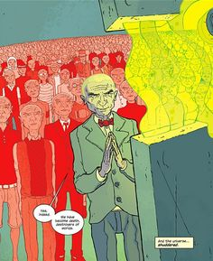 There are no heroes in Jonathan Hickman's The Manhattan Projects