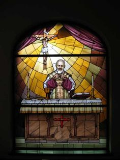 """Keep close to the Catholic Church at all times, for the Church alone can give you true peace, since she alone possesses Jesus, the true Prince of Peace, in the Blessed Sacrament."" ~Saint Padre Pio of Pietrelcina"