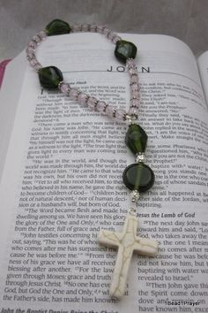 Anglican/Protestant Prayer Beads by 1Bead1Prayer on Etsy
