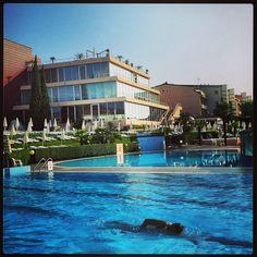 #swim #swimmingpool #beautifulday in #loano2village #sunny #italy #rivieraligure