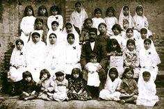 1919 -- Baha'i Class in Qazvin, Persia