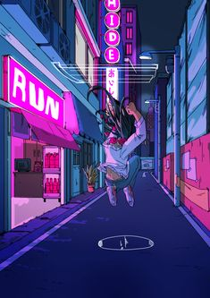 """But honey you can't hide from feelings, i can hear it from here"" wow i cant draw boats let alone animate them woop Neon Aesthetic, Aesthetic Anime, 8bit Art, Japon Illustration, Usa Tumblr, Cyberpunk Art, Cute Art, Art Inspo, Pixel Art"