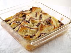 Oink-Oink...  Raspberry Nutella Bread Pudding by EvilShenanigans, via Flickr