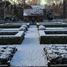 First winter snowfall in East Hampton. So serene and beautiful.
