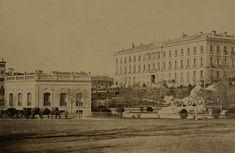 FOTOS ANTIGUAS DE MADRID - LA CIBELES EN 1870