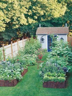 Make the Most of Small Garden Spaces - Gardening Tips at WomansDay.com - Woman's Day
