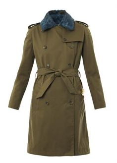 Double breasted military coat by Sophie Hulme
