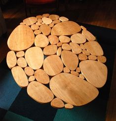 Modern Coffee Table Medium Size Solid Cherry by michaelarras, $549.00