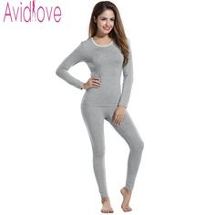 Women Thermal Underwear Womens Long Johns Autumn Winter Underwear Sets Female Shirt+Pants Thick Warm Plus Velvet The fairy