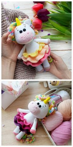 Most up-to-date Pics amigurumi free pattern unicornio Tips Amigurumi Crochet Unicornio Free Pattern (Spanish) – Free Amigurumi Crochet : Amigurumi Crochet Crochet Unicorn Pattern, Crochet Amigurumi Free Patterns, Crochet Dolls, Amigurumi Tutorial, Tutorial Crochet, Stuffed Animal Patterns, Amigurumi Doll, Crochet Projects, Free Images