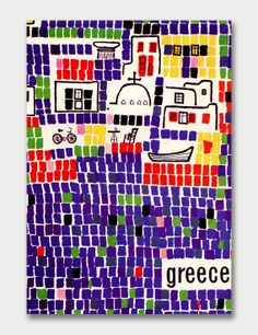 Greek National Tourist Office  Artist: Michael Katzourakis / Graphis Annual 64/65