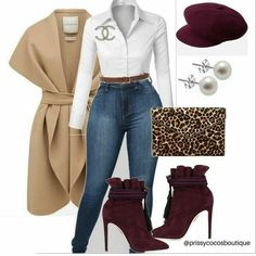 Prissy Williams on Fall Season is near, do you have your wardrobe in style Book your Free Consultation today, Click Book Mode Outfits, Fall Outfits, Fashion Outfits, Womens Fashion, Fashion Trends, Fashion Ideas, Classy Outfits, Stylish Outfits, Outfit Elegantes