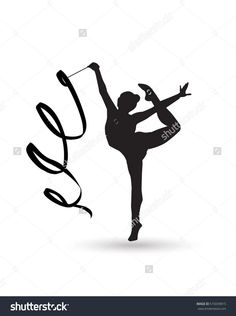 Young Gymnast Woman With Ribbon Silhouette. Rhythmic Gymnastic Young Girl Isolated. Gym Kids. Olympic Athlete Gymnastic. Gymnastic Ribbon Vector. Artistic Gymnastics, Ballet, Yoga, Gym, Fitness Sports - 515039815 : Shutterstock