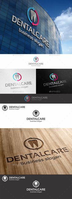 Dental Care  - Logo Design Template Vector #logotype Download it here: http://graphicriver.net/item/dental-care-logo/10765314?s_rank=923?ref=nexion